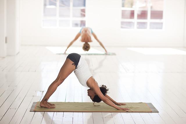 фитнес здоровье спорт йога