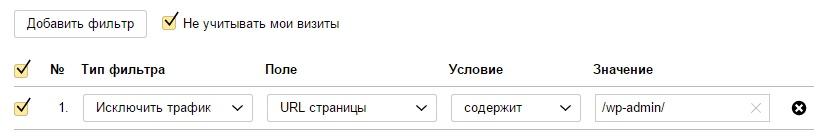 Как узнать реальную статистику сайта в Яндекс метрике ?