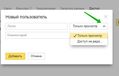 Как получить доступ к статистике Яндекс Метрика по ссылке