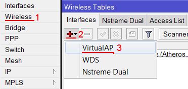 <br><span> <br><span>Настройка виртуальной Wi-Fi точки доступа в MikroTik</span> <br></span> <br>
