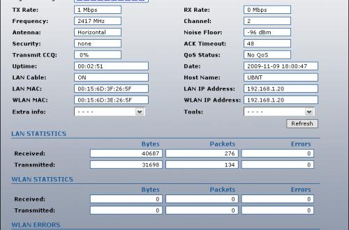 <br><span> <br><span>Обзор веб-интерфейса Ubiquiti Nanostation2 Loco (AirOS v3.5)</span> <br></span> <br>