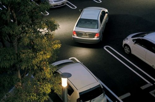 Правильная парковка задним ходом