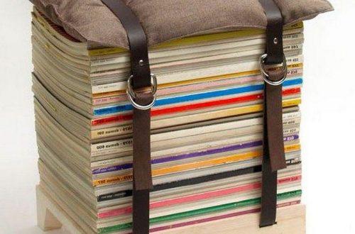 10 лайфхаков со старыми книгами: умный интерьер