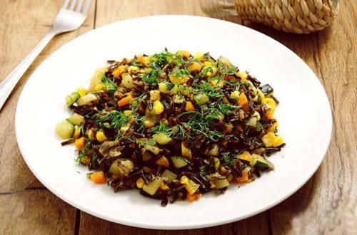 Как правильно и вкусно приготовить дикий (черный) рис