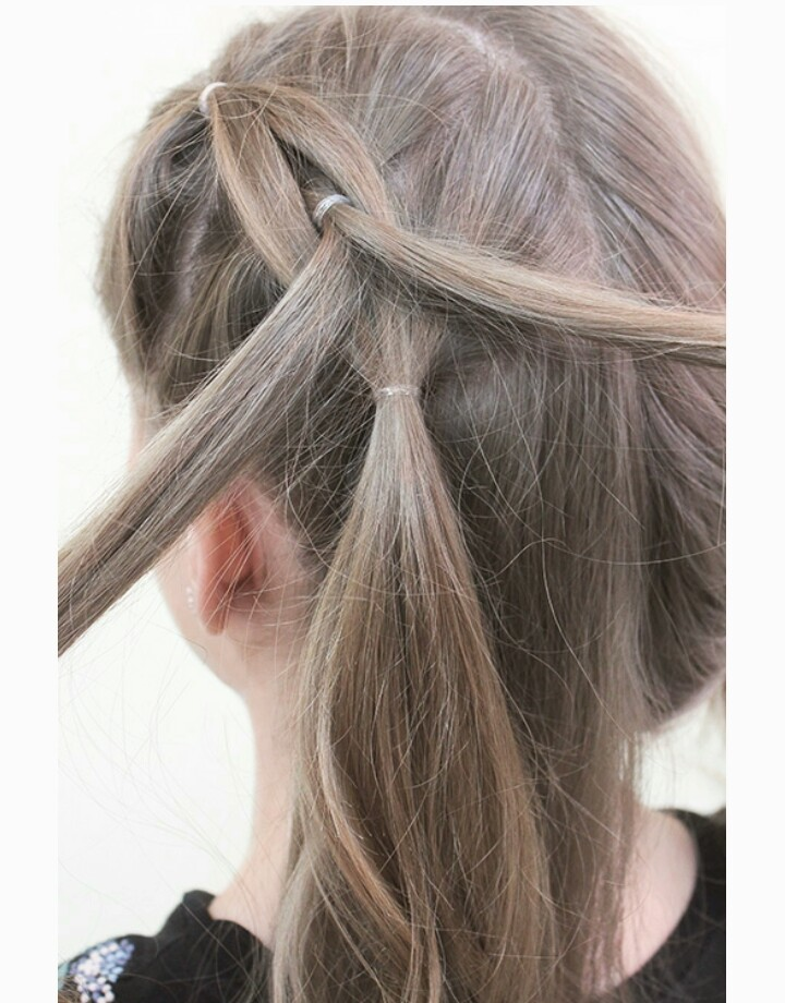 французская коса фото