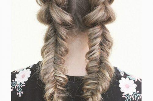 Французская коса как плести пошаговая инструкция фото