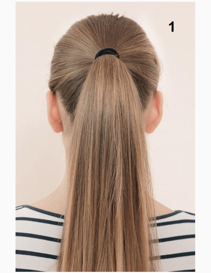 простая коса заплести фото