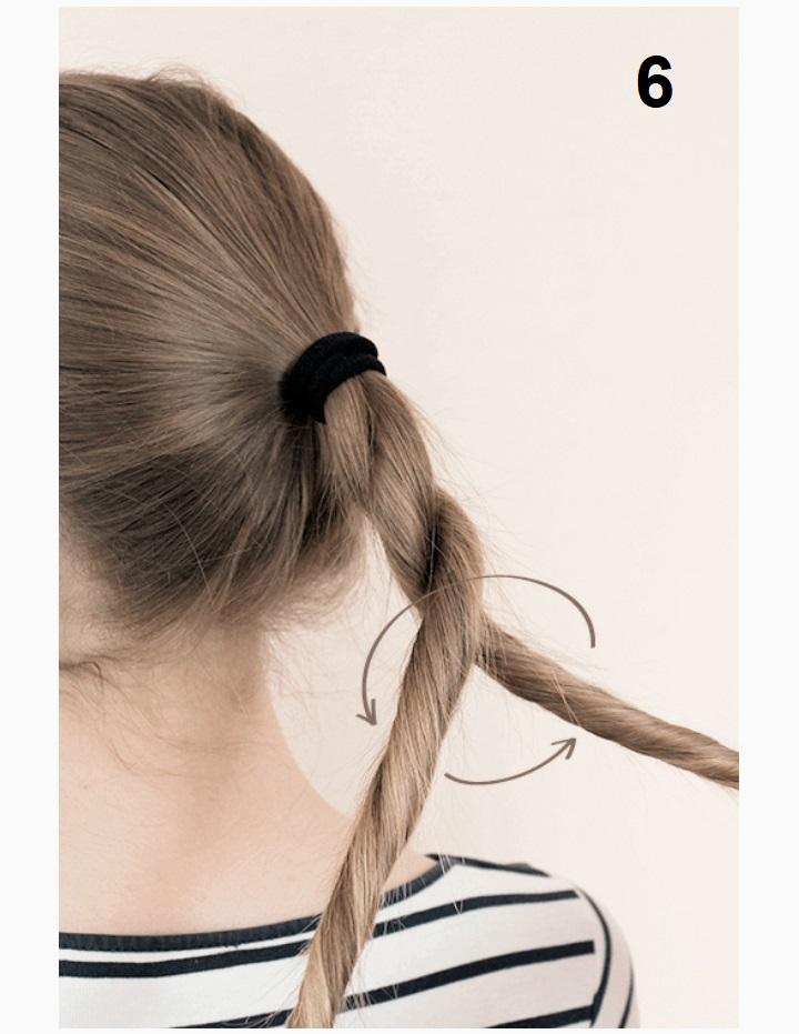 кручёная коса фото