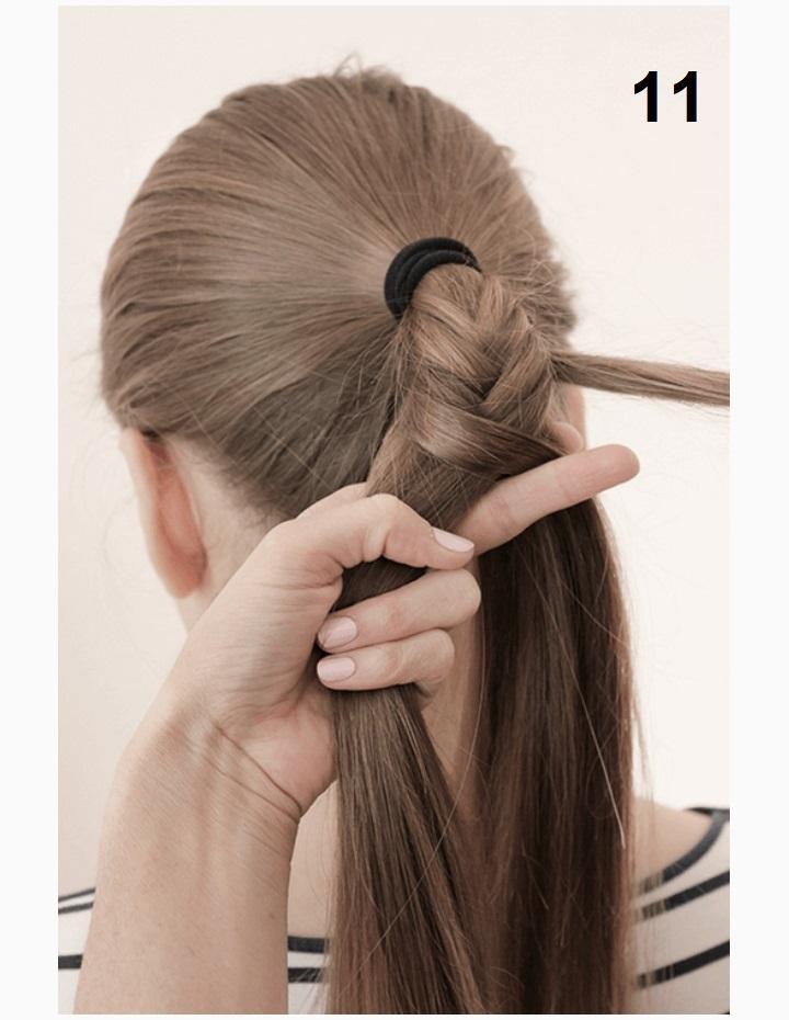 стильная коса фото