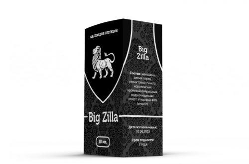 Капли Big Zilla – мощное решения всех постельных проблем