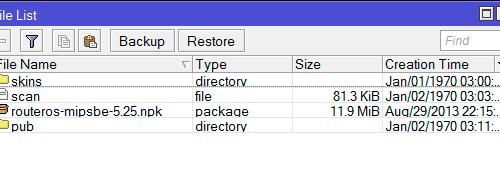 <br><span> <br><span>Как вернуть старую прошивку MikroTik</span> <br></span> <br>