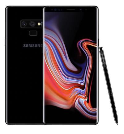 Samsung Galaxy Note 9 цвет чёрный