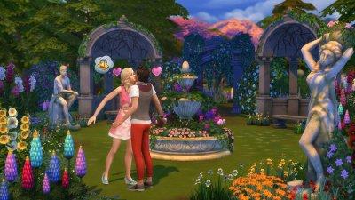 Симс 4 Романтический сад скачать торрент