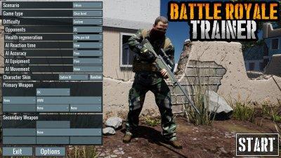 Battle Royale Trainer скачать торрент