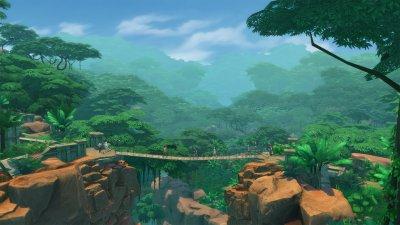 Симс 4 Приключения в джунглях