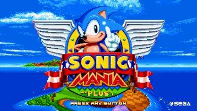 Sonic Mania Plus скачать торрент