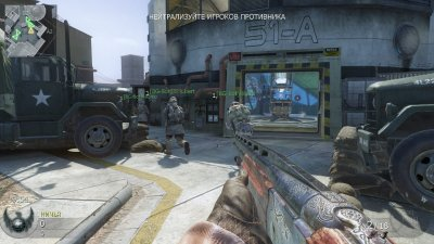 Call of Duty Black Ops Механики