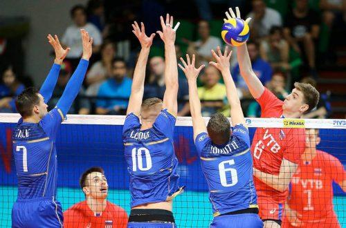 Волейбол Россия Франция лига наций 2019 мужчины где смотреть онлайн