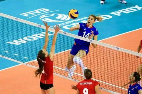 Волейбол Россия Бельгия лига наций 2019 женщины где смотреть онлайн