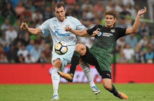 Зенит Краснодар 3 августа 2019 футбол где смотреть онлайн