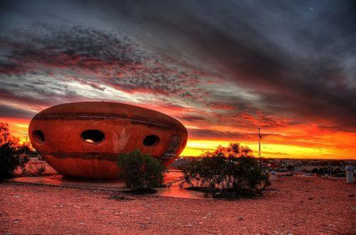 Кубер-Педи – подземный город в Австралии достопримечательности