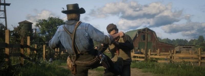 Трейлер Red Dead Redemption 2 для ПК