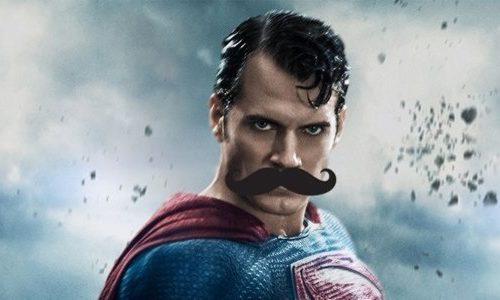 Новый кадр с усатым Суперменом из «Лиги справедливости»