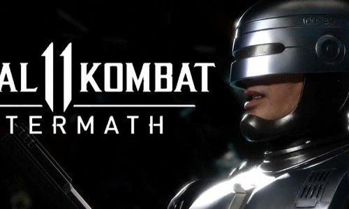 Геймплей за Робокопа в новом трейлере Mortal Kombat 11: Aftermath