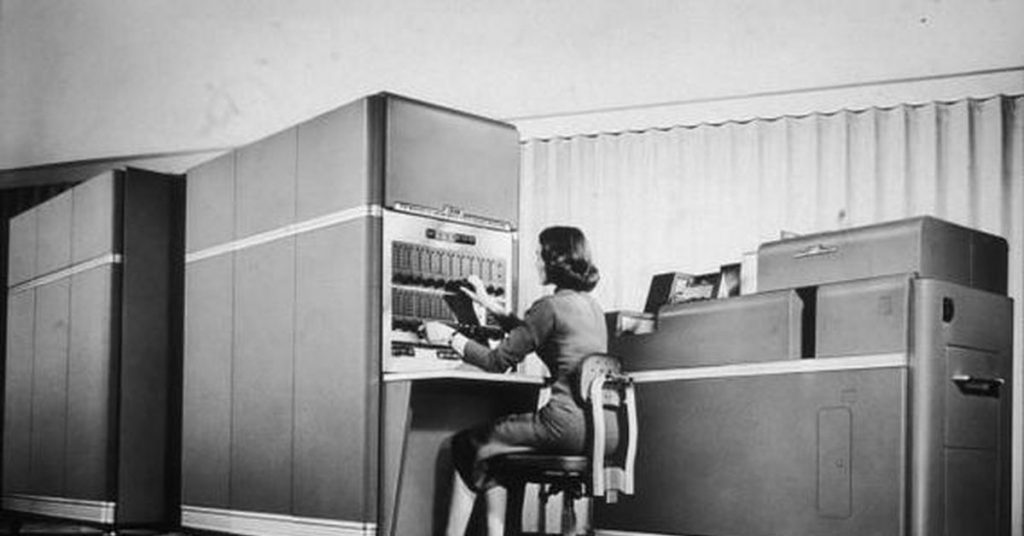 С чего началась история современных компьютеров
