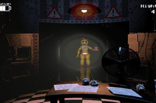 Five Nights at Freddy's игра в жанре ужасы